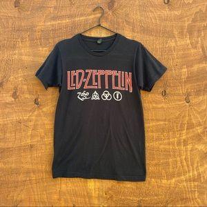 Led Zeppelin Vintage band T-shirt sz Small